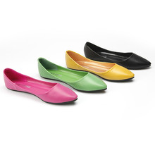 Women's shoes with shallow soft sole and flat sole in summer of 2019
