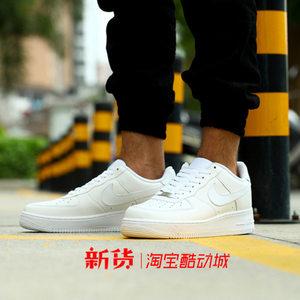 耐克Nike Air Force 1空军<span class=H>AF1</span>全<span class=H>白</span>315122-111/315115-112男女板鞋