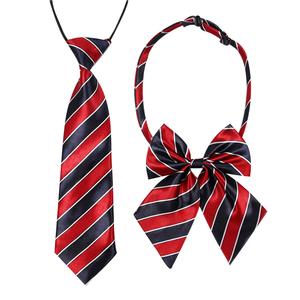 圣诞<span class=H>领带</span>儿童<span class=H>领带</span>男童领花女童小学生校服英伦时尚演出小宝宝<span class=H>领结</span>