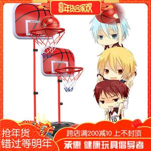 儿童篮板室内男孩运动宝宝篮球架可升降篮球框投蓝落地式球类<span class=H>玩具</span>