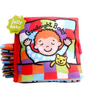 婴儿<span class=H>布书</span>早教益智玩具带<span class=H>响纸</span>可水洗0岁宝宝启蒙玩具宝宝书