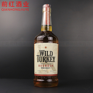 洋酒 WildTurkey whisky威凤凰81波本威士忌美国波本野火鸡
