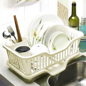 大号厨房沥水架水槽旁收纳篮