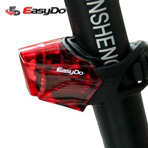 EASYDO 自行车尾灯呼吸尾灯 充电单车LED防水尾灯快拆式骑行装备