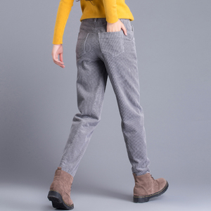 女士条绒<span class=H>裤</span>子女灯芯绒女<span class=H>裤</span>宽松韩版哈伦<span class=H>裤</span>萝卜<span class=H>裤</span><span class=H>休闲</span><span class=H>裤</span>长<span class=H>裤</span>春秋季