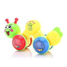 Bellekang 120-1 Crawler Music Bug Cartoon Caterpillar Ring Crawler Baby Learns to Crawl Toys