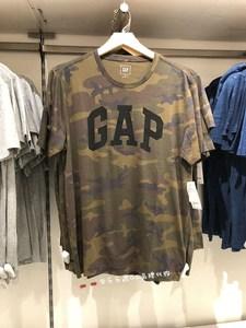 Gap<span class=H>正品</span>国内代购男装 Gap徽标<span class=H>动感</span>迷彩印花短袖<span class=H>T恤</span>910491