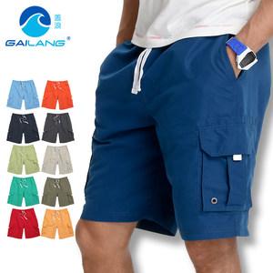 盖浪<span class=H>沙滩</span><span class=H>裤</span>男速干宽松大码纯色<span class=H>休闲</span>五分<span class=H>裤</span>工装短<span class=H>裤</span> 夏季薄款短<span class=H>裤</span>