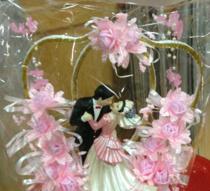新款婚庆道具 <span class=H>蛋糕</span>架小人装饰品 婚礼<span class=H>公仔</span>新郎新娘花包邮多种款式