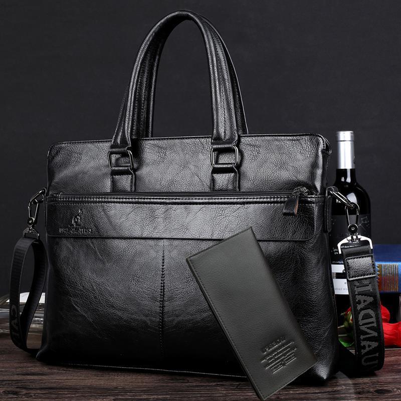新款旅行包男士真皮手提包商务出差行李包<span class=H>男包</span>旅游箱包登机牛皮包