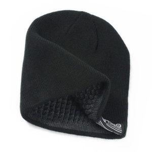 针织毛线帽男帽子冬天加厚保暖<span class=H>护耳帽</span>女包头套头帽男韩版纯色黑色