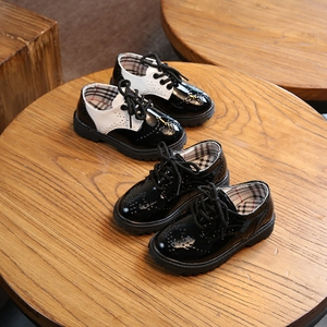 2019春季新款儿童鞋男童黑色皮鞋中小大童学生宝宝表演单鞋休闲鞋