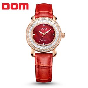 DOM/多姆 腕表 品牌<span class=H>手表</span>/流行<span class=H>手表</span> 石英女表 G-86
